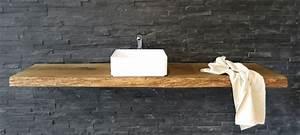 Waschtischplatte Holz Massiv : waschtischplatte ~ Lizthompson.info Haus und Dekorationen