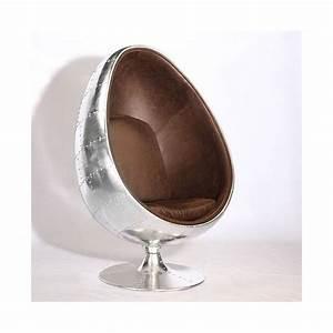 Fauteuil En Oeuf : fauteuil oeuf aviateur ~ Farleysfitness.com Idées de Décoration