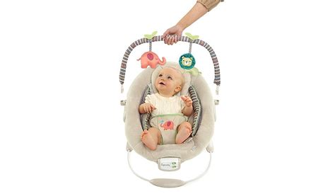 Comfort And Harmony Bouncer  Cozy Kingdom  Baby George