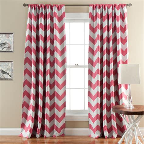 lush decor chevron blackout window curtain pair walmart com