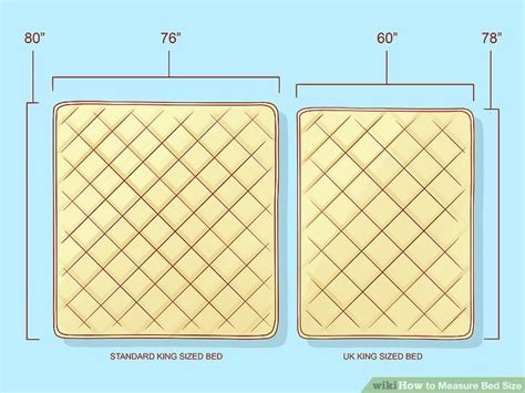 how wide is a size mattress how to measure bed size 10 steps with pictures wikihow