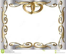 cadre mariage invitation de cadre d 39 anniversaire de mariage images libres de droits image 11363699
