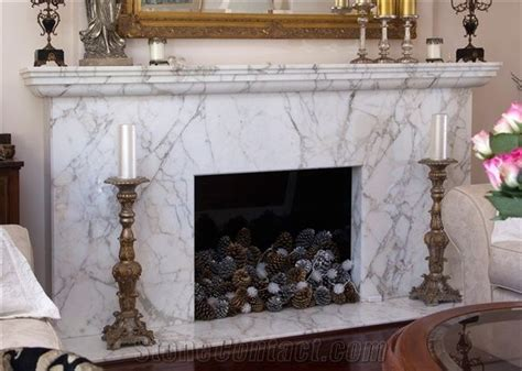 Calacatta Crema Marble Fireplace From Australia Paper Origami Christmas Decorations Decorating Room Ideas Mantels Homemade Dining Decor In Spain Outdoor Light Easy Diy