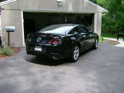2013 ford mustang manual buy used 2013 ford mustang gt premium black on black