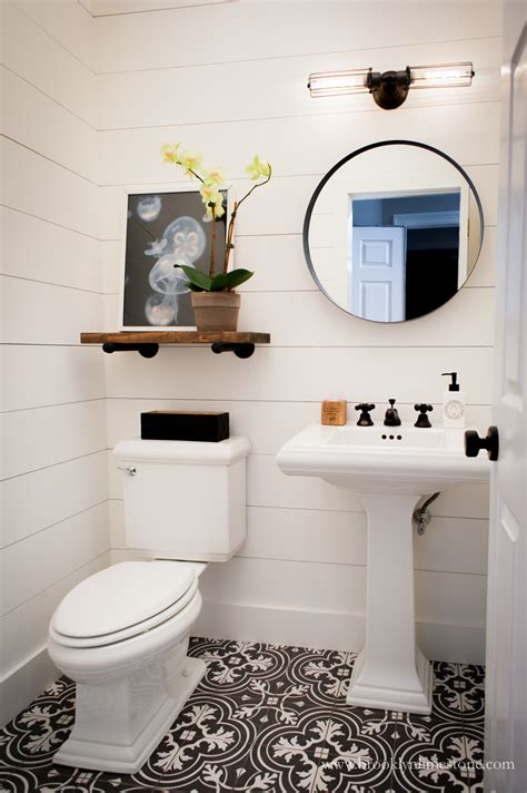 Small Bathroom Black And White by Small Bathroom Remodels With A Big Impact Start At Home