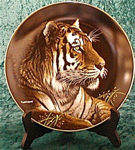 siberian tiger natures majestic cats artist  richter