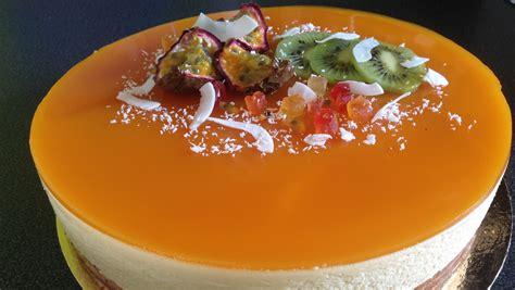 entremet fruits de la insert mangue les gourmandises de n 233 mo