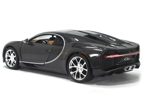 Bugatti owes its distinctive character to a family of artists and engineers, and has always strived to offer the extraordinary, the unrivaled, the best. Bugatti Chiron Black 1:24 Maisto diecast Scale Model car   Scale Arts India