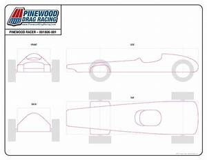 free pinewood derby template by sin customs 001806 With pine wood derby car templates