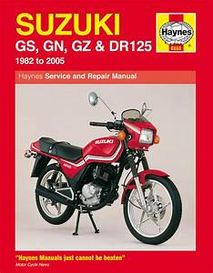 1982 84 Suzuki Motorcycle Dr125 Service Manual New