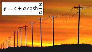 Hyperbolic Functions  Catenary  Example 3  Telephone Lines