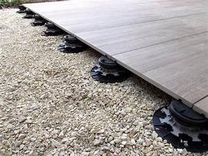 Terrasse Bois Sur Terre : terrasse bois avec plot sur terre diverses ~ Dailycaller-alerts.com Idées de Décoration