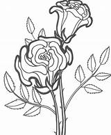 Coloring Pages Flower Rose Roses Printable Flowers Dead Sheets Drawing Happy Birthday Bestcoloringpagesforkids Simple Adult Getdrawings Plant Books Hearts Getcoloringpages sketch template