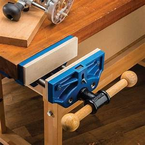 """9"""" Quick Release Workbench Vise Rockler Woodworking and"""