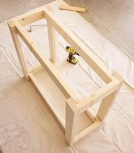 Faire Une Plancha : desserte de jardin faire soi m me avec du bois ~ Nature-et-papiers.com Idées de Décoration