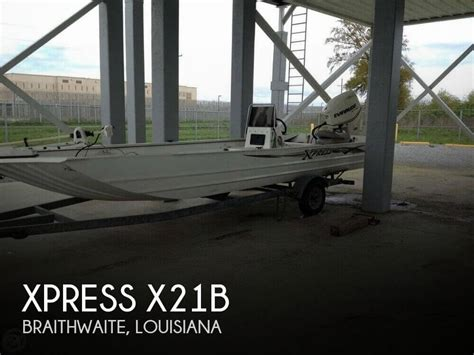 Used Xpress Bay Boats For Sale In Louisiana by For Sale Used 2004 Xpress X21b In Braithwaite Louisiana