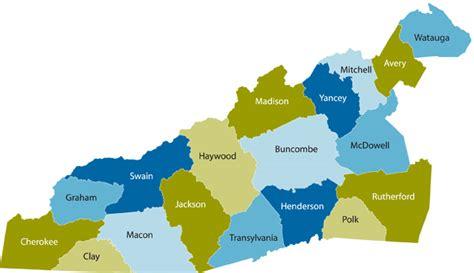 The counties of Western North Carolina - Carolina Public Press