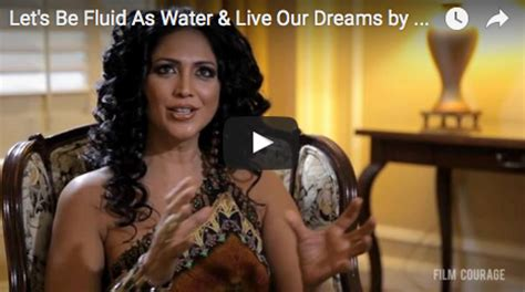 kannada actress kalpana first movie let s be fluid as water and live our dreams by kalpana