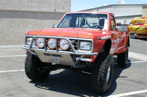 prerunner ranger bumper bangshift com money no object this 1983 ford ranger