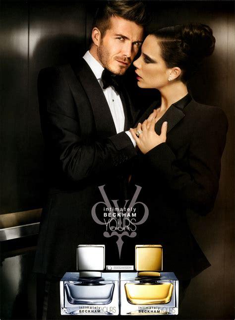 intimately  fragrance advertisements  beckhams