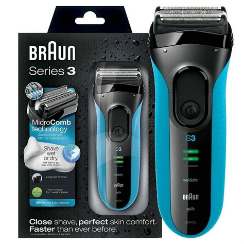 braun series proskin wet dry mens electric rechargeable