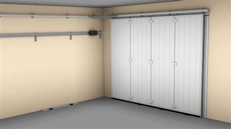 porte de garage coulissante motorisee avec portillon zoom sur la porte de garage coulissante mister menuiserie