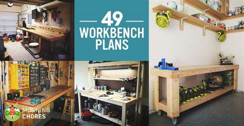 diy workbench plans ideas  kickstart