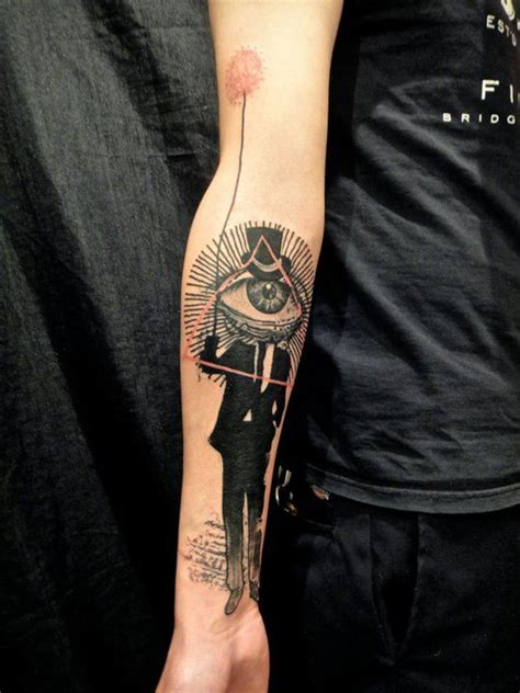 Tatouage Illuminati Discret Tattooart Hd
