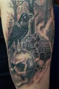 Tattoo Leben Und Tod : darkside skulls tattoo stile tattoo h nfeld bei der blaue affe tattoo studio ~ Frokenaadalensverden.com Haus und Dekorationen