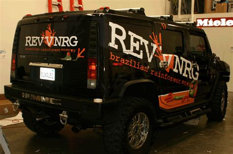 hummer  custom vehicle wrap  iconography los angeles
