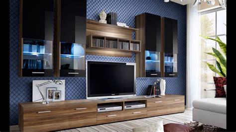 Meuble Tv Design, Mural, Laqué, Bois, à Led