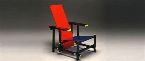 la chaise de rietveld culte du design la chaise et bleu de gerrit rietveld le point