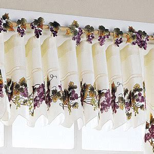 Grape Themed Kitchen Curtains by Grapevine Kitchen Curtains Curtain Design