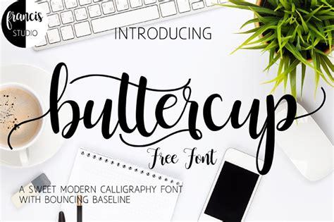 buttercup  font  script fonts  monogram fonts modern calligraphy fonts