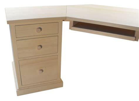 bureau d angle en pin acheter bureau d 39 angle en pin massif