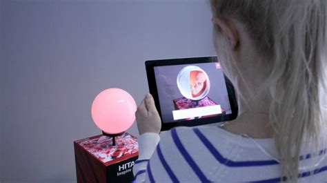hitachi interactive augmented reality experience  technologyi inition london