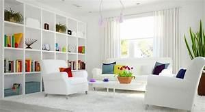Deco Pour La Maison : d coration de maison et meubles blancs pour l 39 int rieur chic ~ Teatrodelosmanantiales.com Idées de Décoration