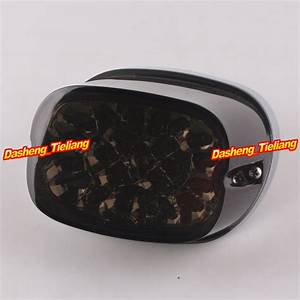 Aliexpress buy motorcycle led tail light integrated turn signals for harley davidson xl