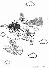 Potter Harry Ausmalbilder Malvorlagen Coloring sketch template