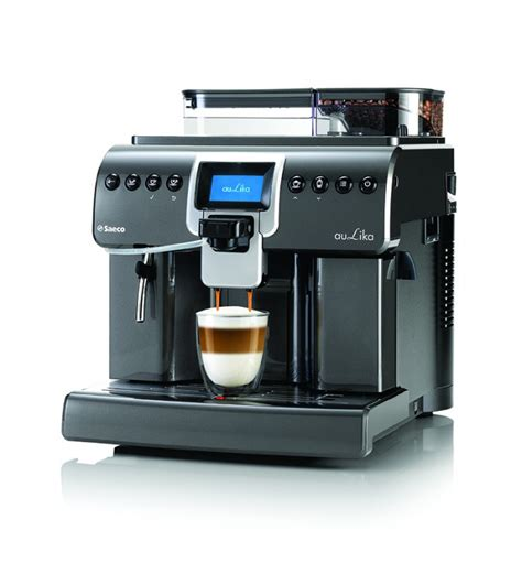Abc footage of royal cup coffee SAECO - Royal B2C ONE Touch Espresso & Cappuccino Machine