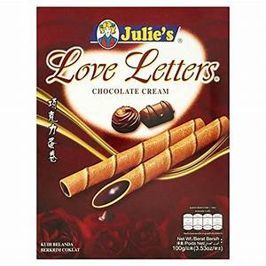 julie39s love letters chocolate 100g buy online in uae With where to buy chocolate letters
