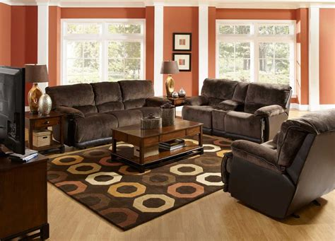 charcoal and brown living room living room ideas with dark brown sofas nakicphotography