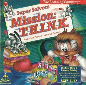 Mission: T.H.I.N.K. - Wikipedia