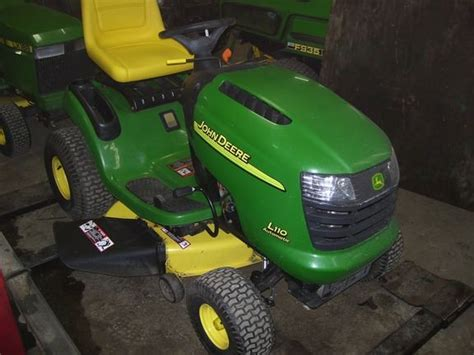 used mower deck for deere l110 deere l110 for sale libertyville il price 1 000
