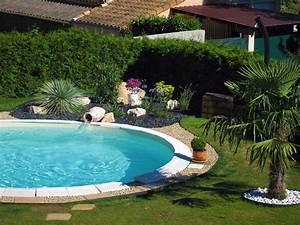 Amenagement Autour Piscine Photos : massif autour piscine ~ Premium-room.com Idées de Décoration