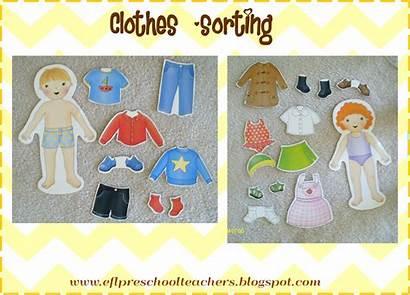 Preschool Clothes Theme Esl Activities Clothing Activity