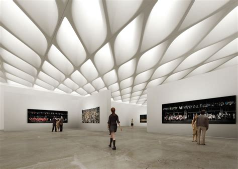 the interior gallery new museum in la the broad codylee co