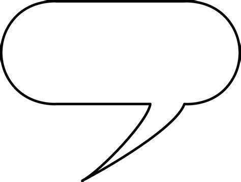 conversation baloon template free vector graphic speech balloon talk chat speak
