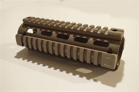quad length rail carbine ar15 m4 matte rails