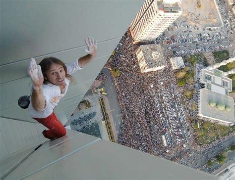 Alain Robert Climbing Burj Khalifa Tallest Building In